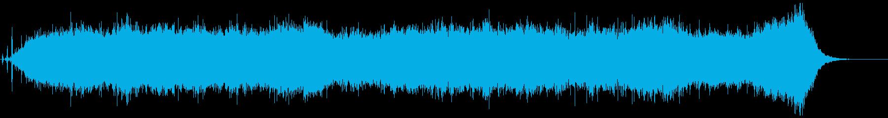背景音 ホラー 22の再生済みの波形
