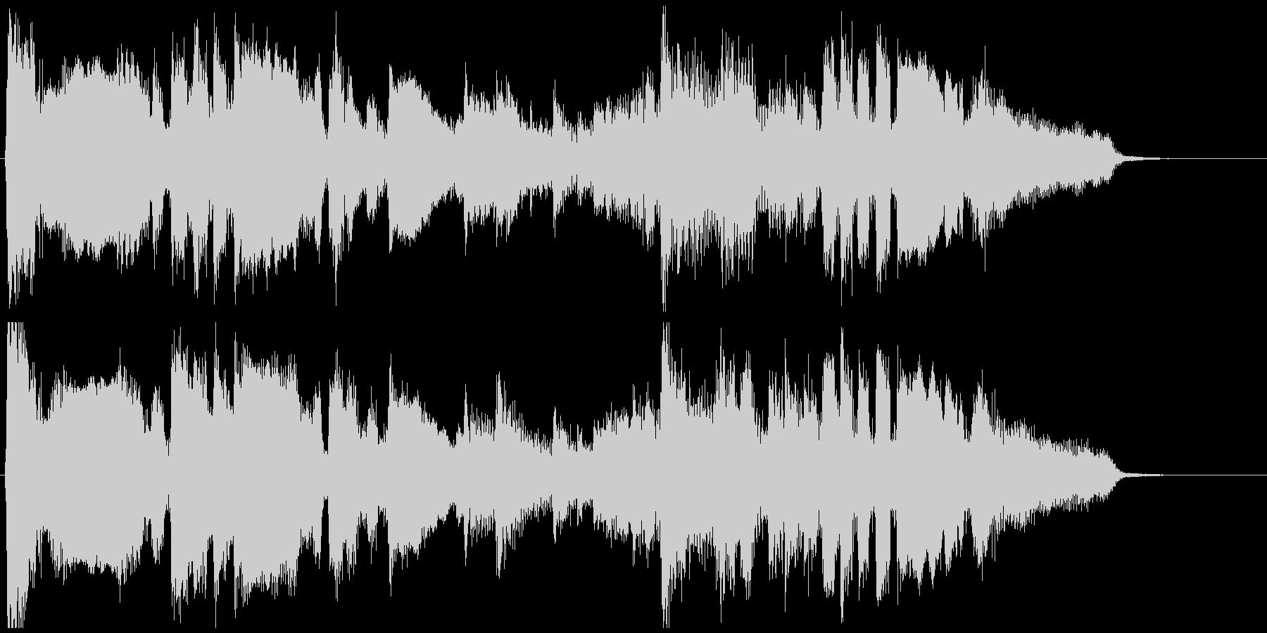 ムードある15秒CM向けサックスバラードの未再生の波形