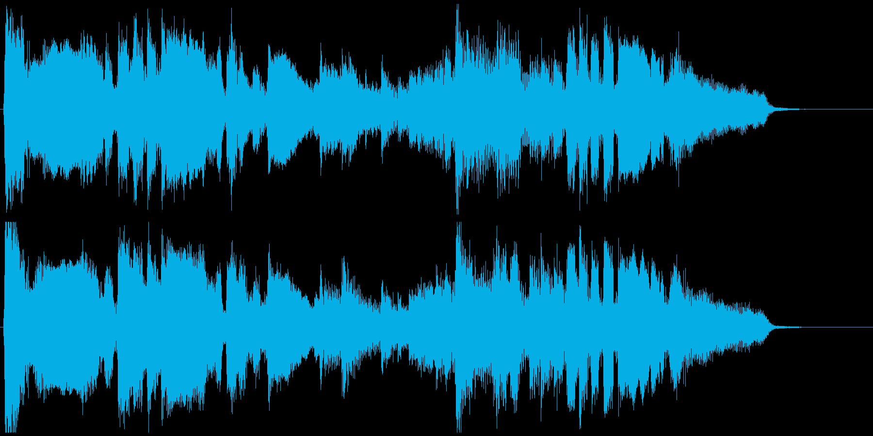 ムードある15秒CM向けサックスバラードの再生済みの波形