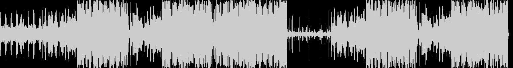 ピアノ曲のジャズアレンジ版の未再生の波形
