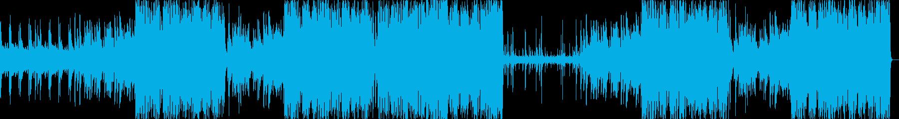 ピアノ曲のジャズアレンジ版の再生済みの波形