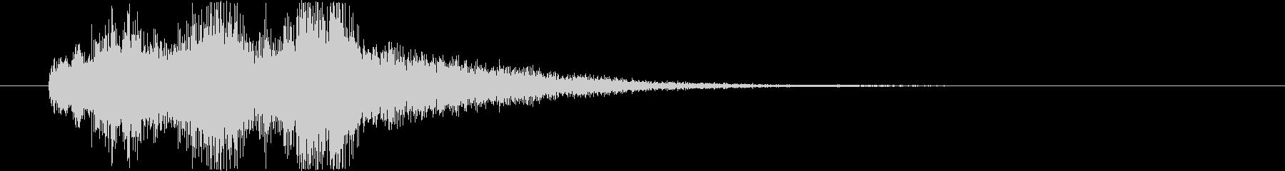 サウンドロゴ・オーケストラ(あおり)の未再生の波形