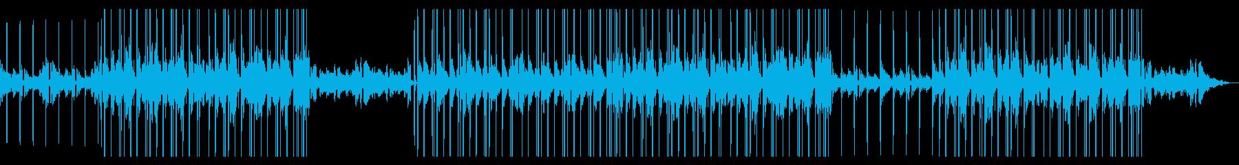 暖かい かわいい リラックス Lo-Fiの再生済みの波形