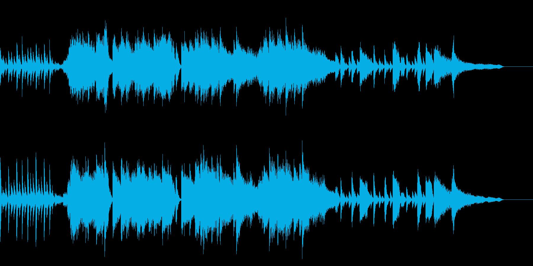 スタイリッシュ!躍動感のあるピアノソロの再生済みの波形