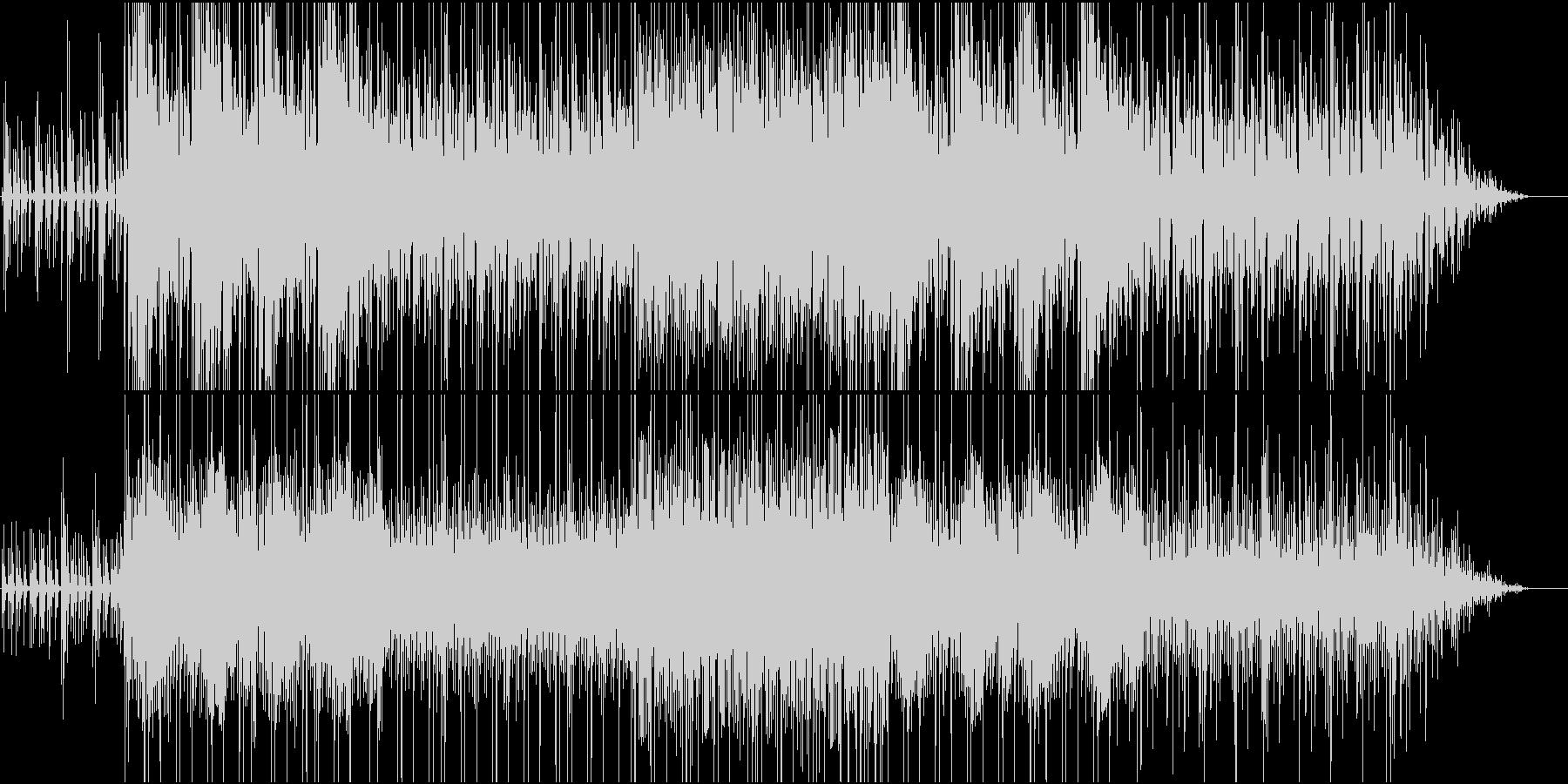 濃厚に蓄積される力の未再生の波形