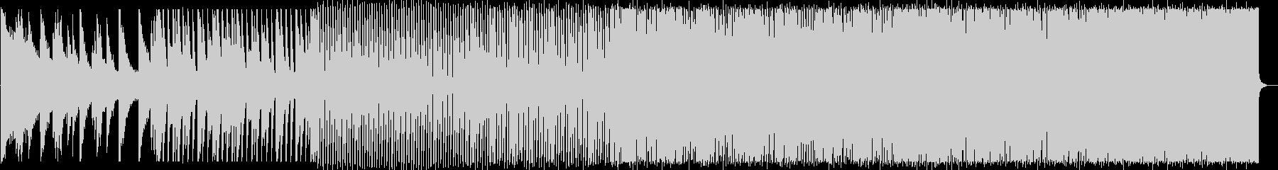 涼しげで疾走感のあるハウスNo578_3の未再生の波形