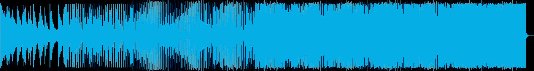 涼しげで疾走感のあるハウスNo578_3の再生済みの波形