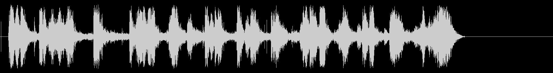チャマルティンメガホントレインの未再生の波形