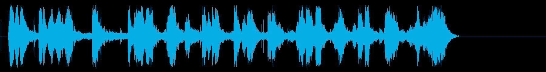 チャマルティンメガホントレインの再生済みの波形