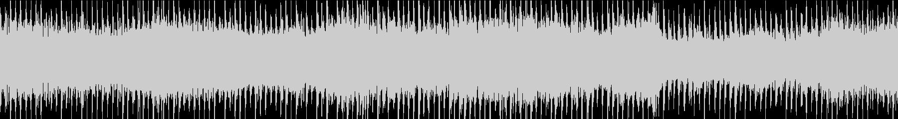 イルミネーションBGM③ビート感:ループの未再生の波形