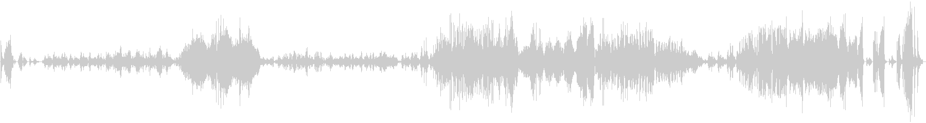 ショパン バラード第1番ト短調の未再生の波形