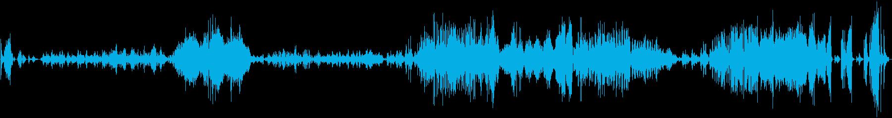 ショパン バラード第1番ト短調の再生済みの波形