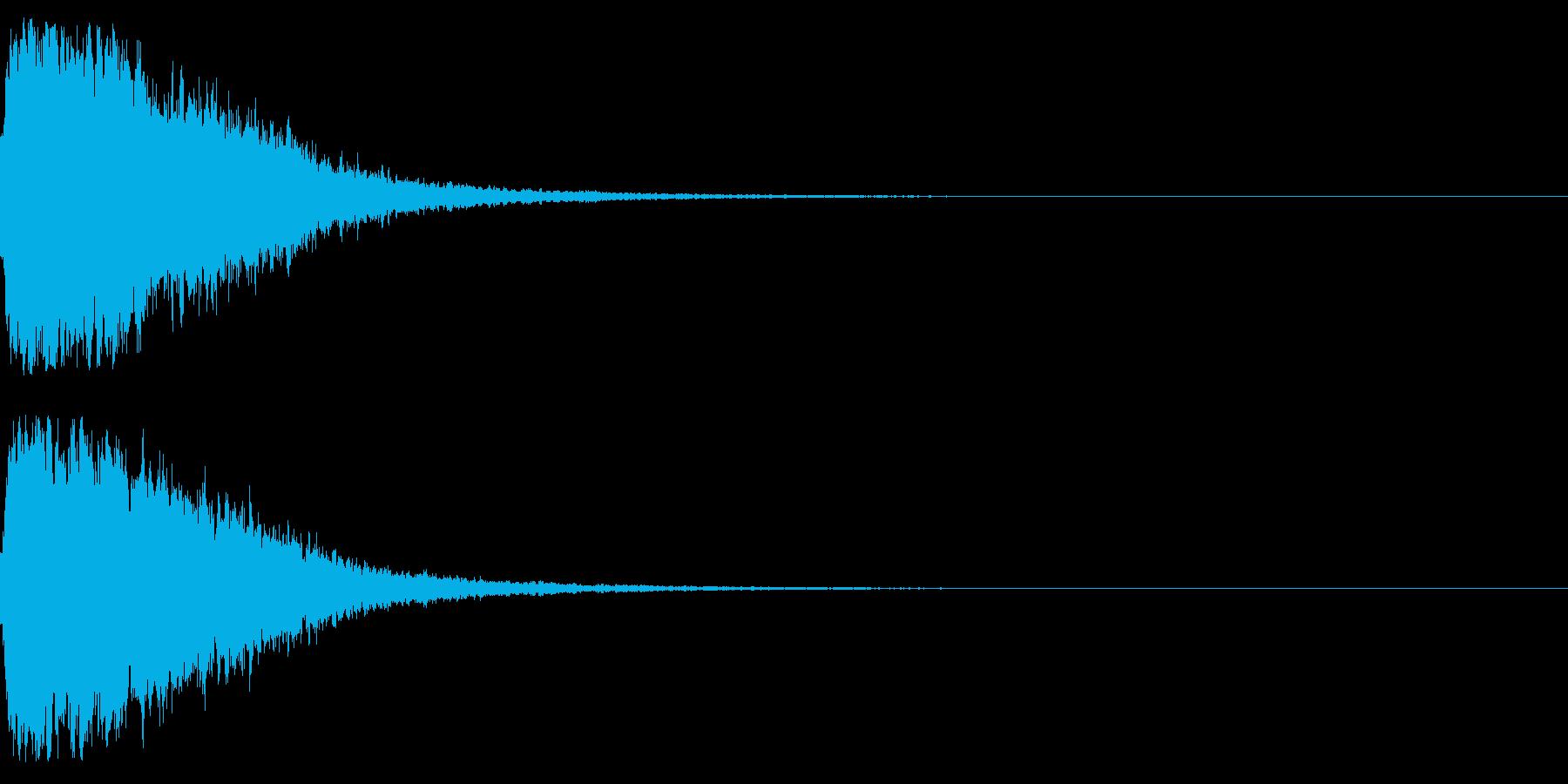 シャキーン☆星,回復,特殊魔法に!08cの再生済みの波形