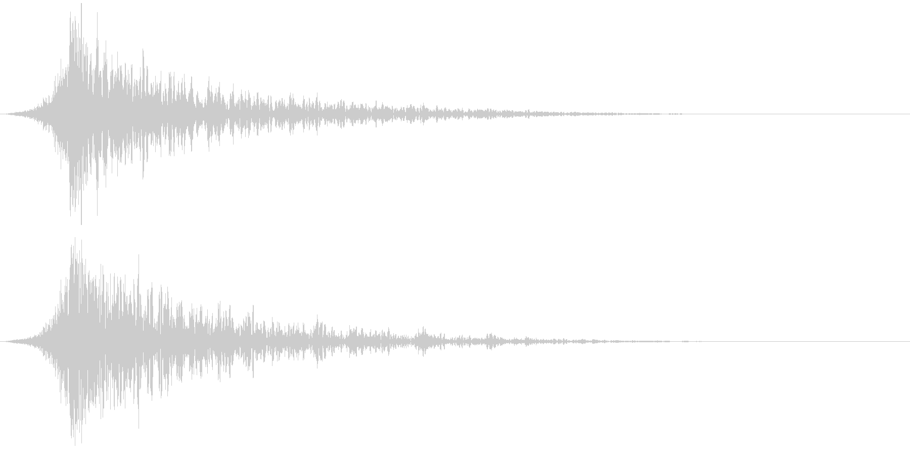 シュードーン-37-1(インパクト音)の未再生の波形