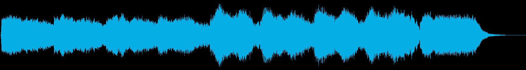 笛の響きが印象的な楽曲の再生済みの波形