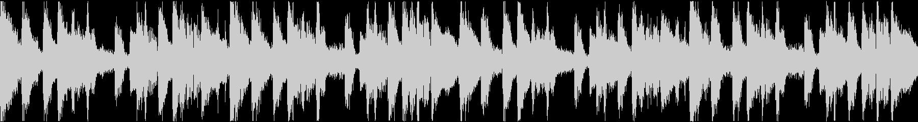 TikTok トランジション音源 ループの未再生の波形
