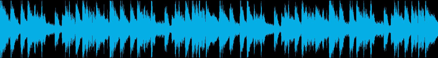 TikTok トランジション音源 ループの再生済みの波形