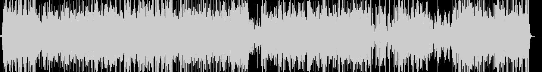 エスニックでトロピカルなレゲェポップの未再生の波形