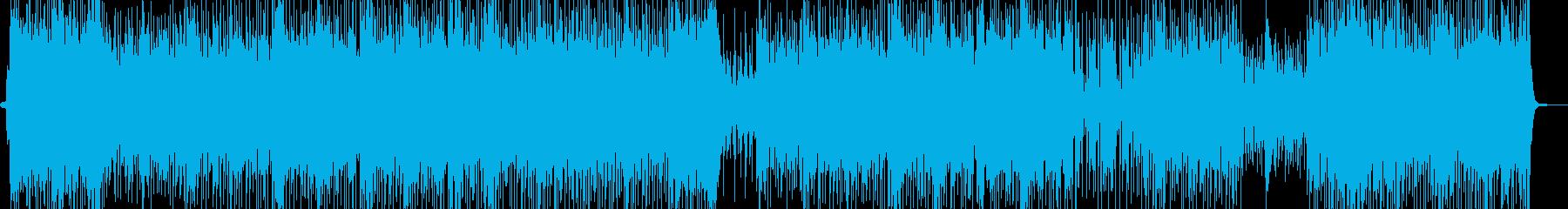 エスニックでトロピカルなレゲェポップの再生済みの波形