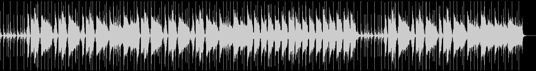 ローファイヒップホップほのぼのの未再生の波形