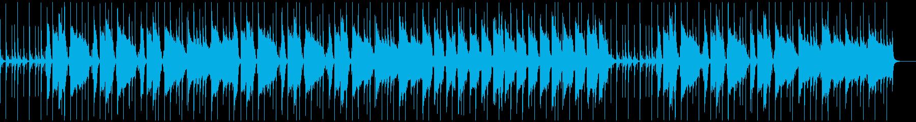 ローファイヒップホップほのぼのの再生済みの波形