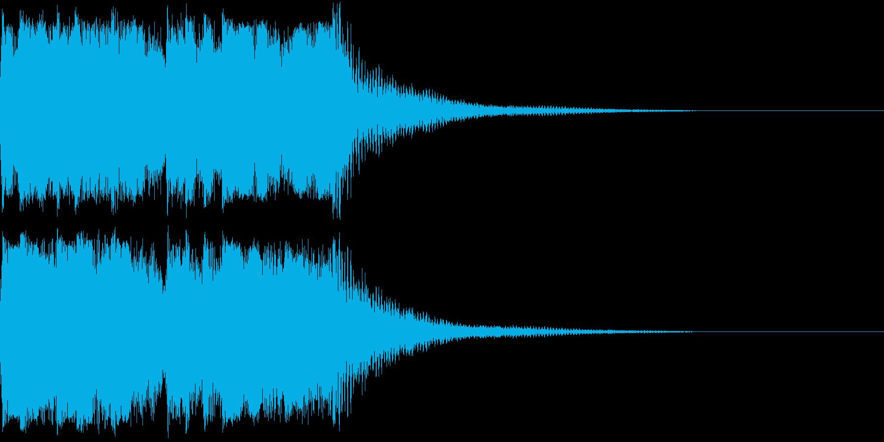 ファンファーレ 当たり 正解 合格 06の再生済みの波形