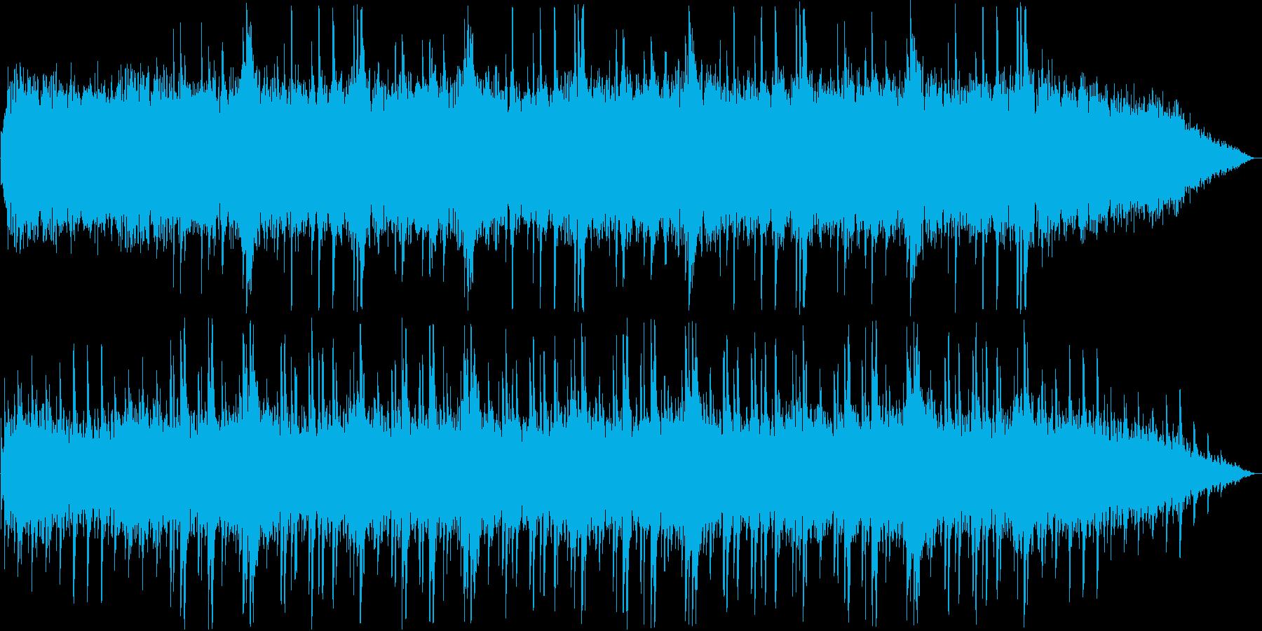 透明感のあるギターシンセ鈴サウンドの再生済みの波形