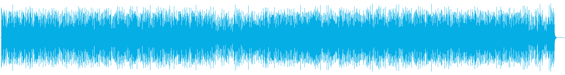 意味深でクールなミュージックの再生済みの波形