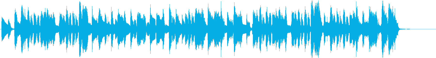 ぶどうをテーマにした楽曲の再生済みの波形
