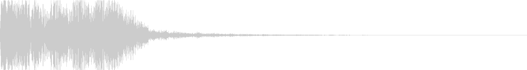 重低音でCINEMATICなDRONEの未再生の波形