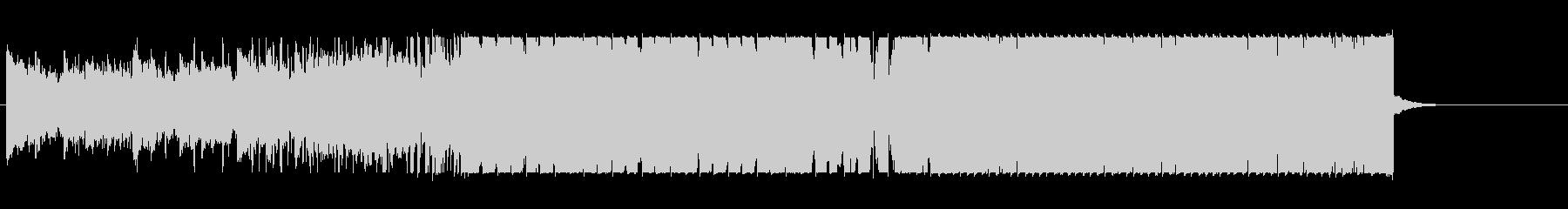 オーケストラチックなハウスの未再生の波形