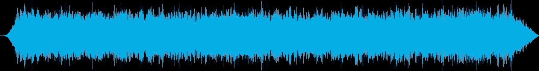 中空の金属空間風:一定の機械的ハウリングの再生済みの波形