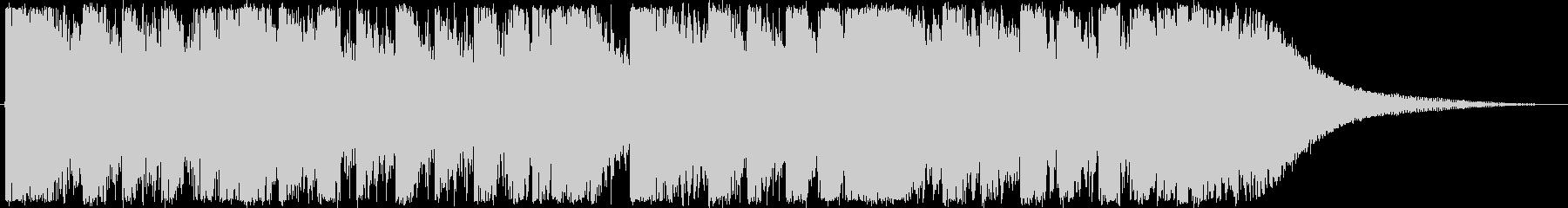琉球音階を使ったダブステップジングルですの未再生の波形