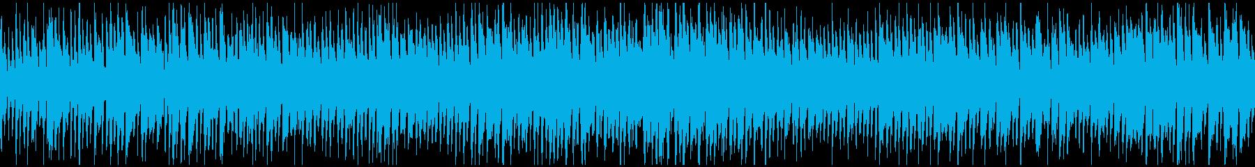 バラエティ系の軽快なリコーダー※ループ版の再生済みの波形