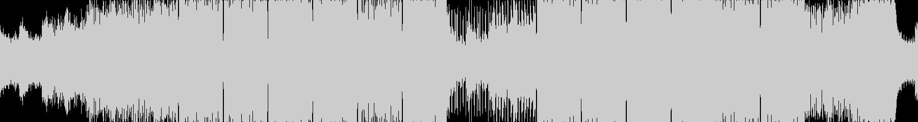 ループ■冷気とコンクリートのテクノの未再生の波形