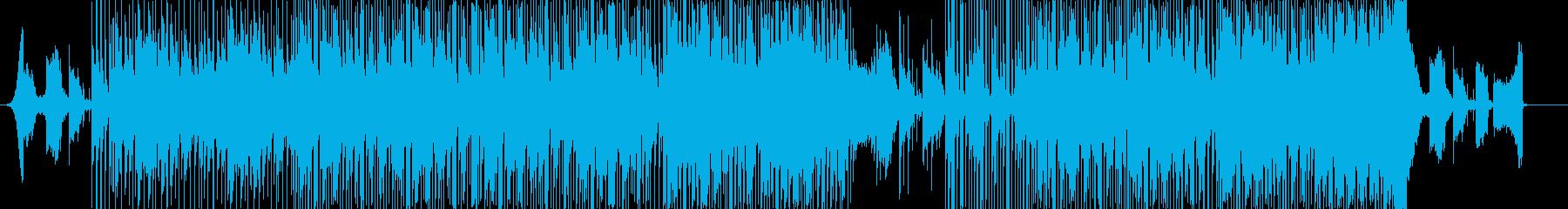 おしゃれ幻想的ヒップホップブレイクビーツの再生済みの波形