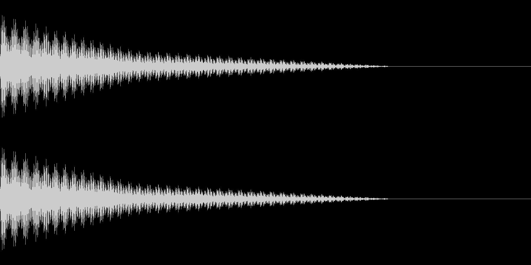 ピューン(コミカル/ファンシーゆるキャラの未再生の波形