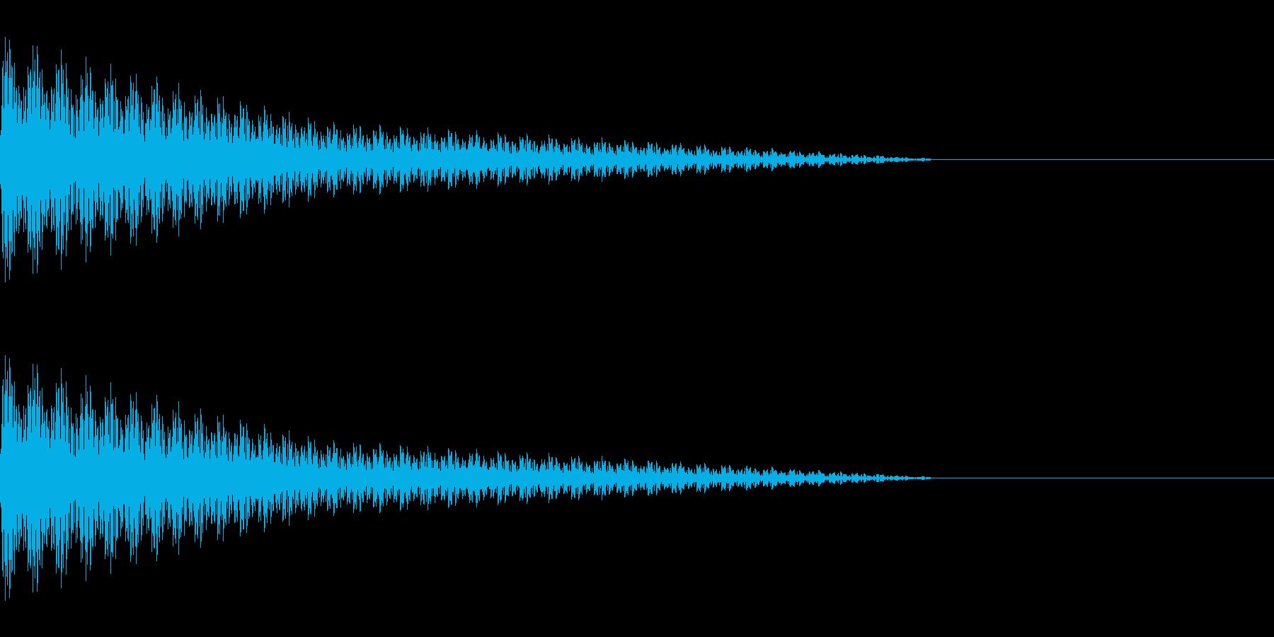 ピューン(コミカル/ファンシーゆるキャラの再生済みの波形