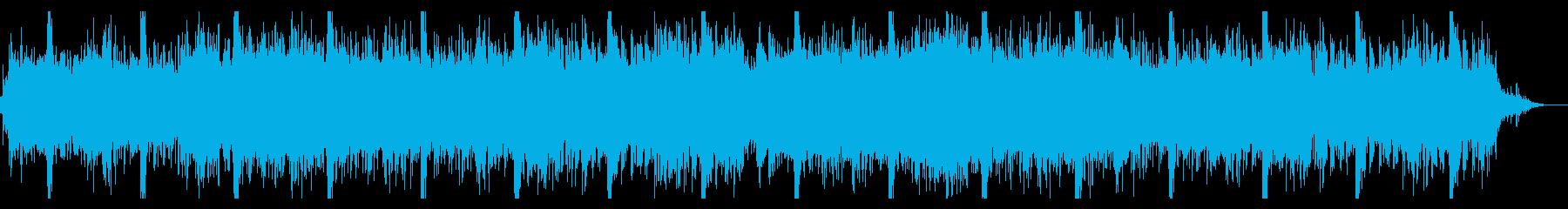 不思議でサスペンシブなテクスチャの再生済みの波形
