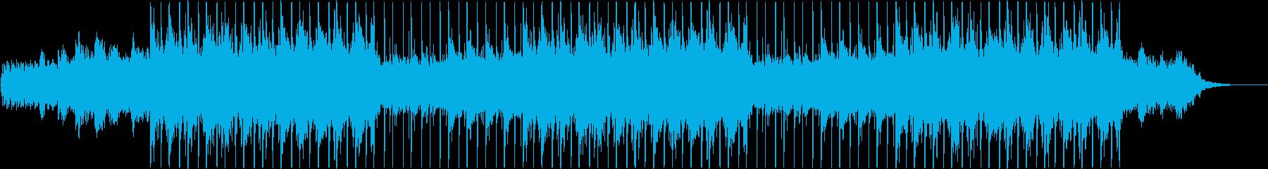 シンセサイザー、ピアノ、雰囲気のあ...の再生済みの波形