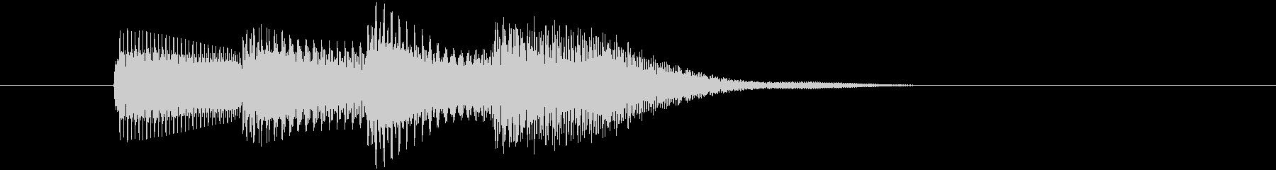 アイテムをゲットした時に最適な音_01の未再生の波形