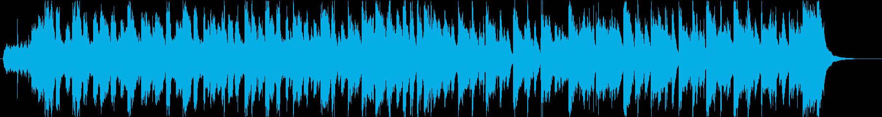 生バイオリン_情熱的なニュースの再生済みの波形