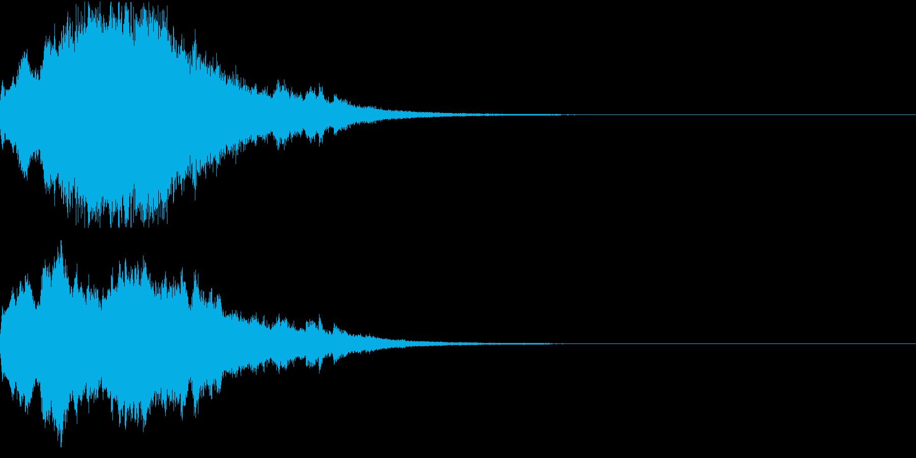 クリスマス ジングルベル キラキラ 09の再生済みの波形