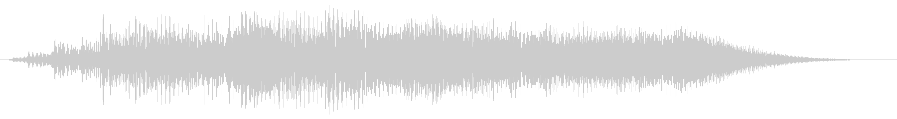 ビョロロン(金属的な音)の未再生の波形