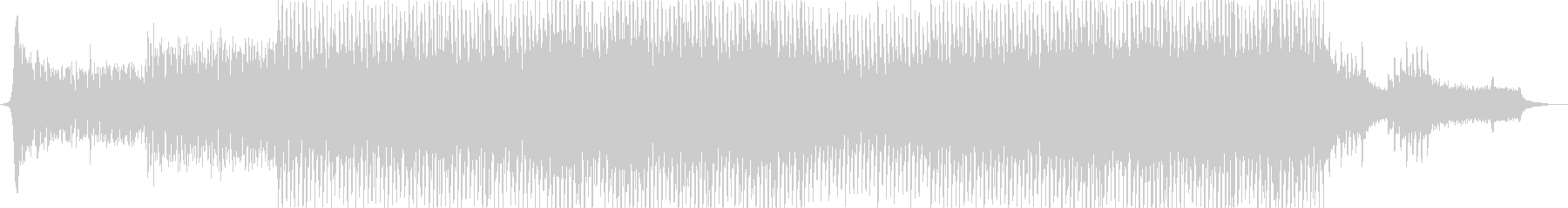 EDM、明るい躍動感、ピアノメロ-05の未再生の波形