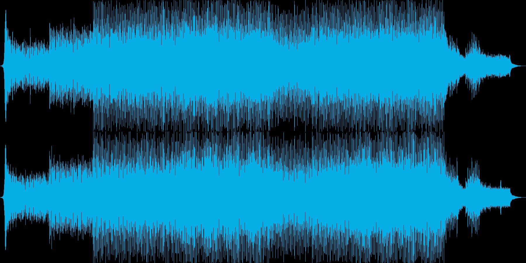 EDM、明るい躍動感、ピアノメロ-05の再生済みの波形