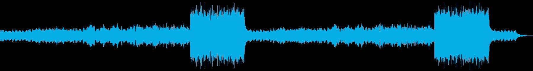 企業VP映像、156オーケストラ、希望Lの再生済みの波形