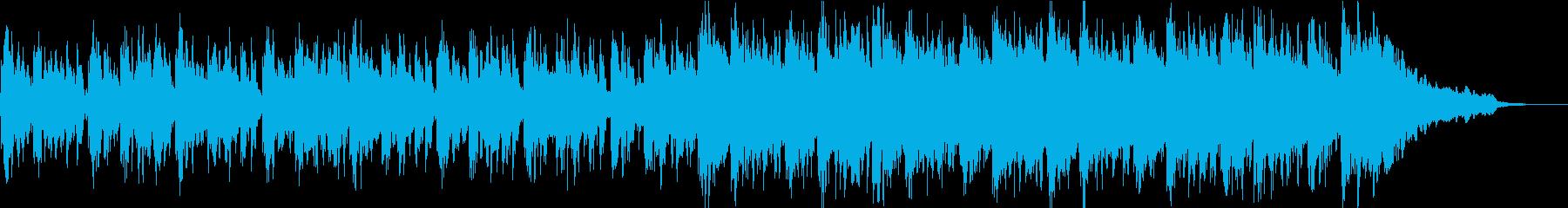 子供の声を使った不思議キャッチーなBGMの再生済みの波形