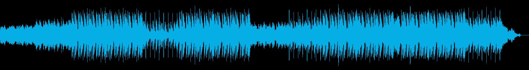 フルート/和風だが今っぽいお洒落BGMの再生済みの波形