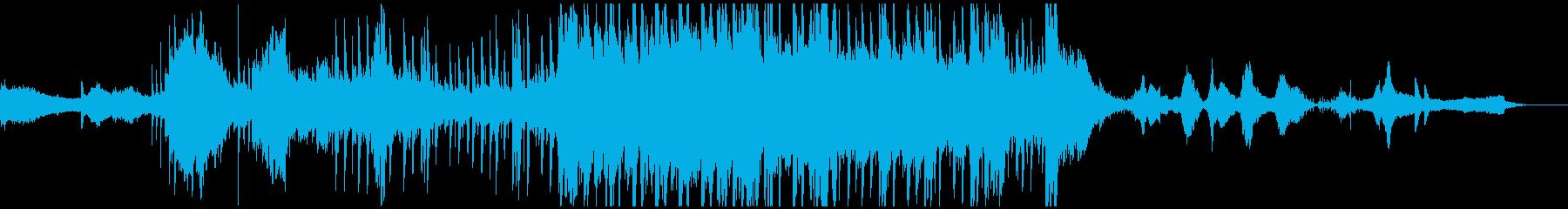ALINEAの再生済みの波形